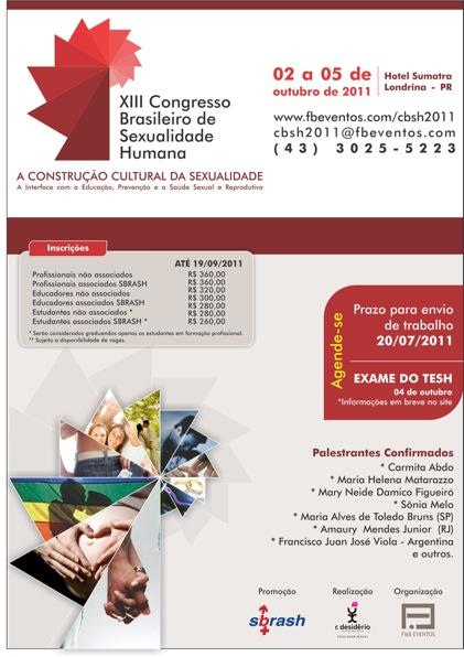 congresso Brasileiro de sexualidade